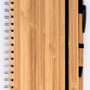 Notizbuch-Bambus