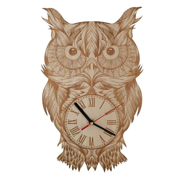 Uhr Eule