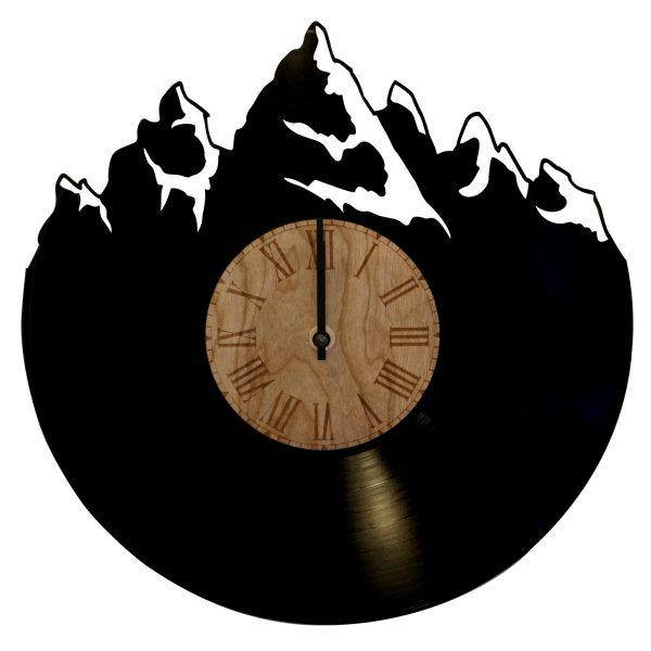 Gebirgsuhr aus Vinyl