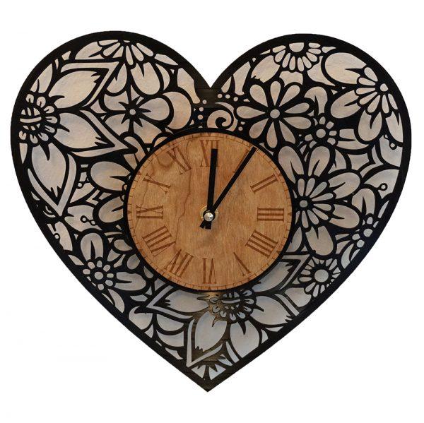 Herz-Uhr